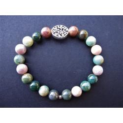 Bracelet arbre de vie en tourmaline