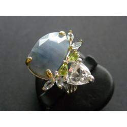 Bague en opale Owyhee
