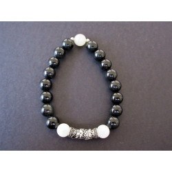 bracelet de protection en obsidienne