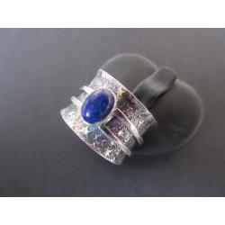 Bague de méditation en lapis lazuli