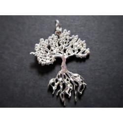 Pendentif arbre de vie avec racines