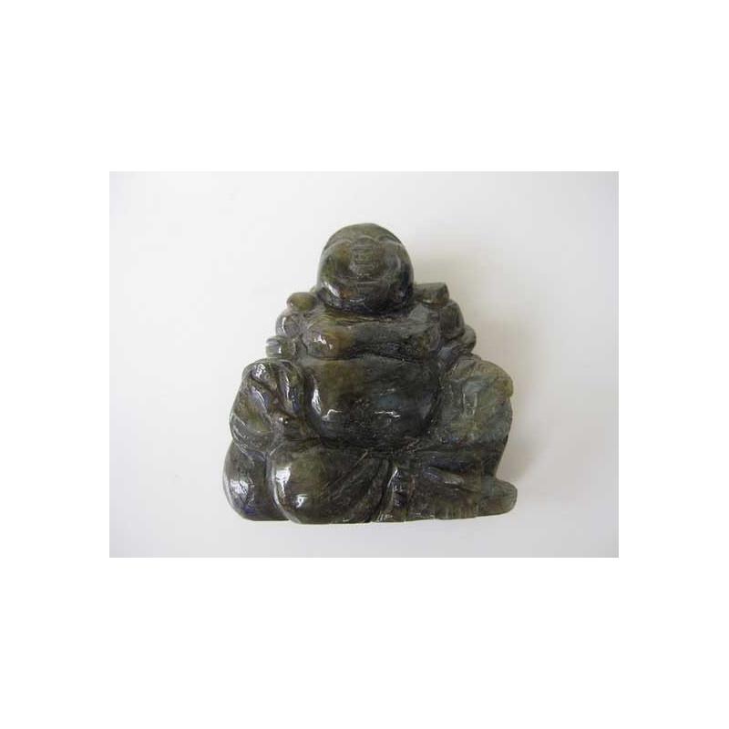 bouddha pierre labradorite