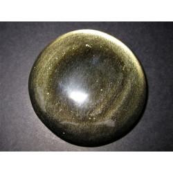 Obsidienne dorée ronde