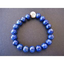 Bracelet pour homme en lapis lazuli